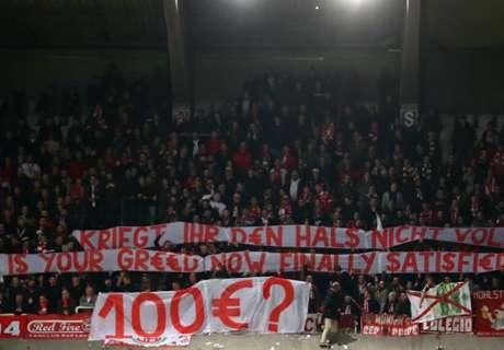 Nach Fanprotest: Geldstrafe gegen Bayern