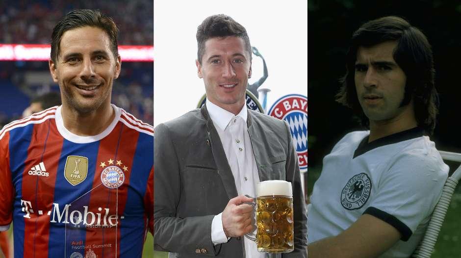 Bundesliga Top Scorers Pizarro Lewandowski Muller