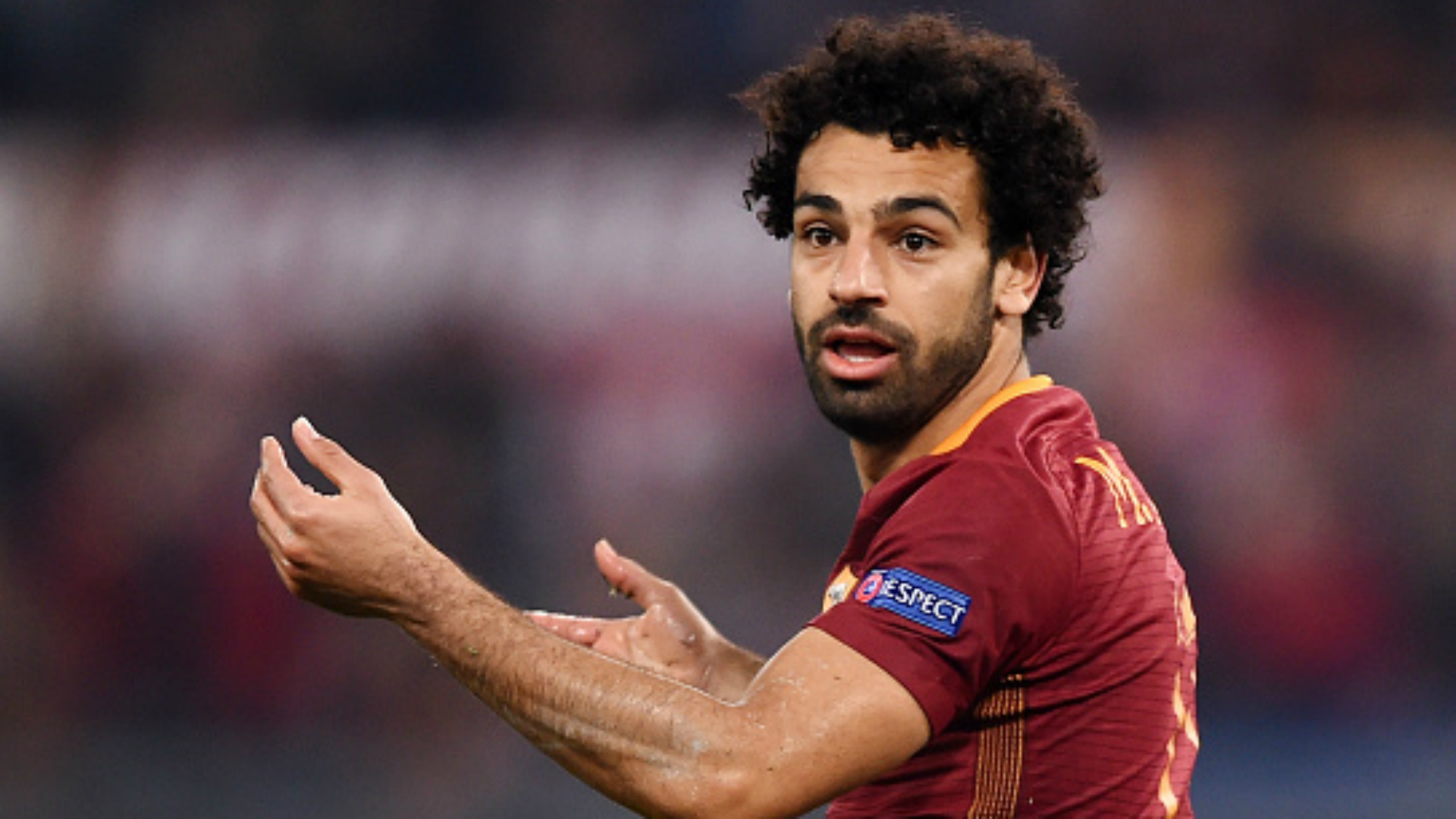 Mohamed Salah Roma Lione Europa League