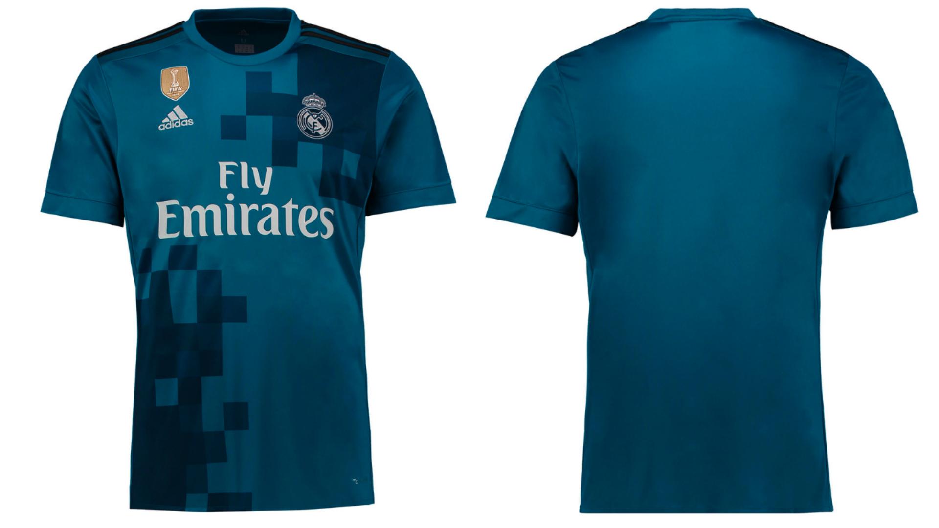 Real Madrid presentó la tercera camiseta que lucirá durante la próxima temporada