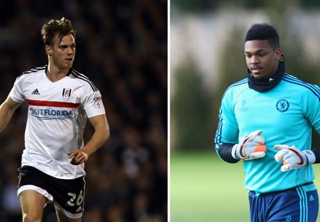 Kalas & Blackman leave Chelsea on loan