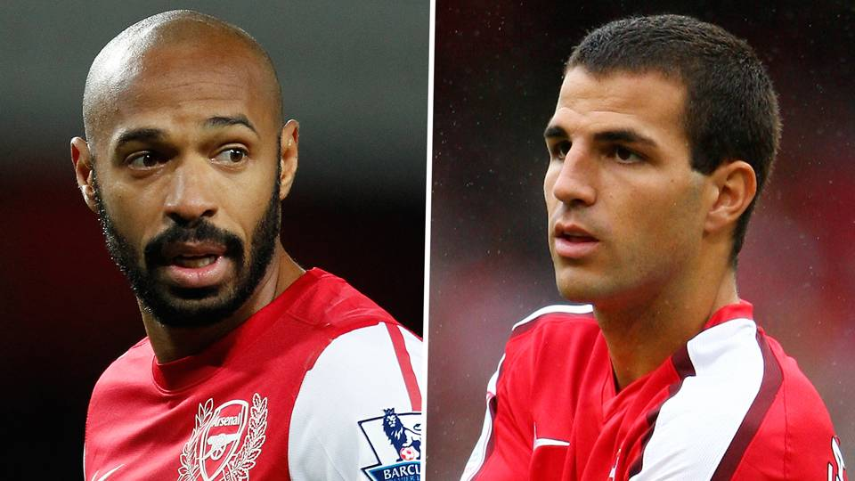 Thierry Henry and Cesc Fabregas, Arsenal
