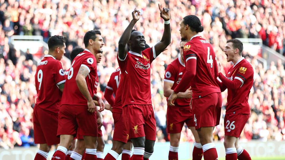 Sadio Mane Liverpool Bournemouth 140418