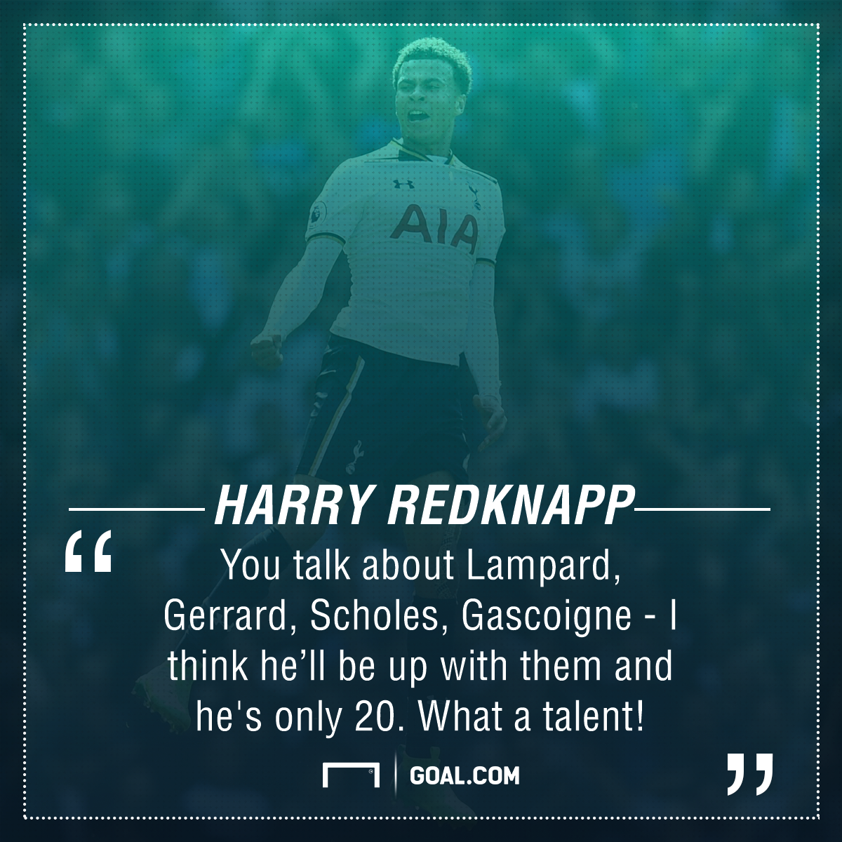 Harry Redknapp Dele Alli