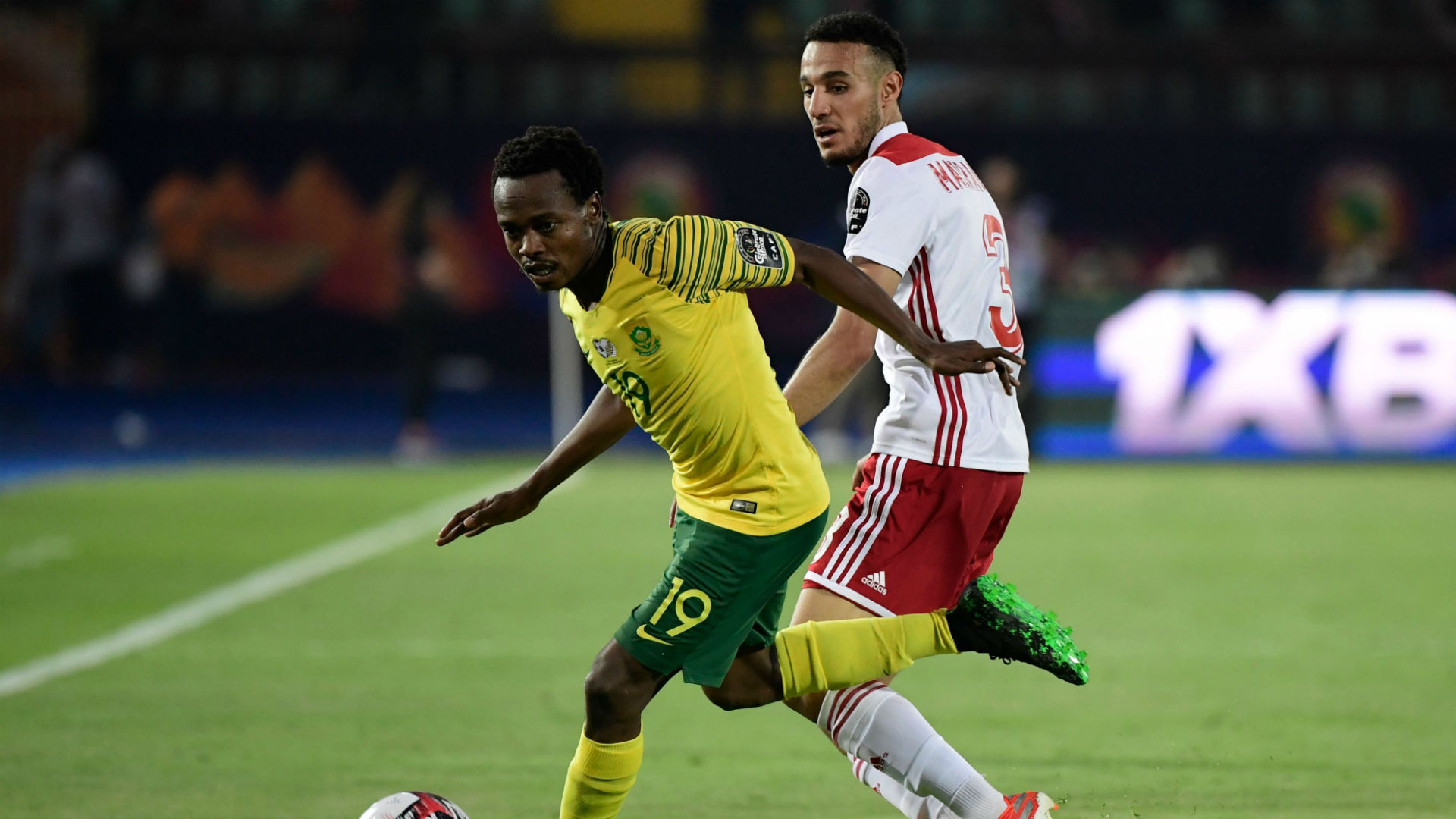 Belgian and French clubs in race for Bafana Bafana striker Percy Tau