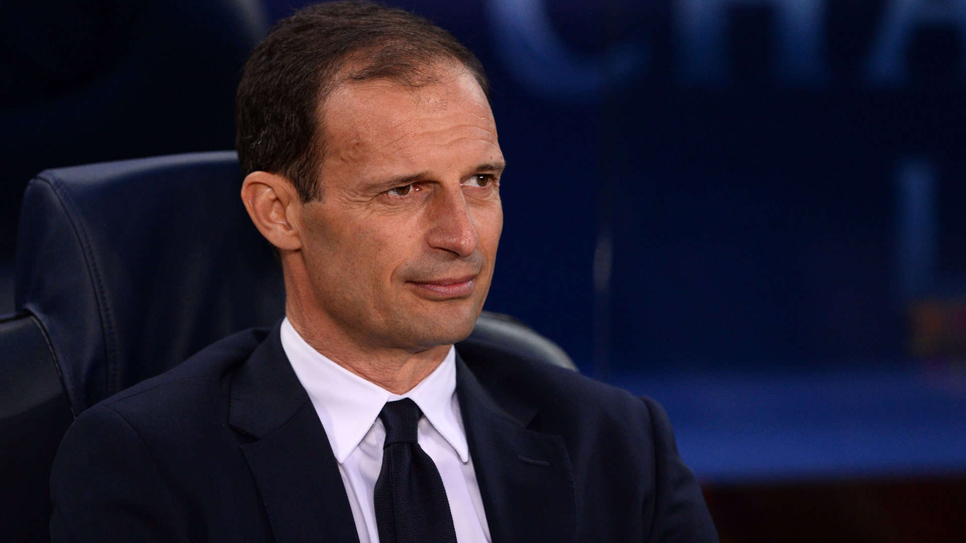 Massimiliano Allegri Barcelona Juventus Champions League