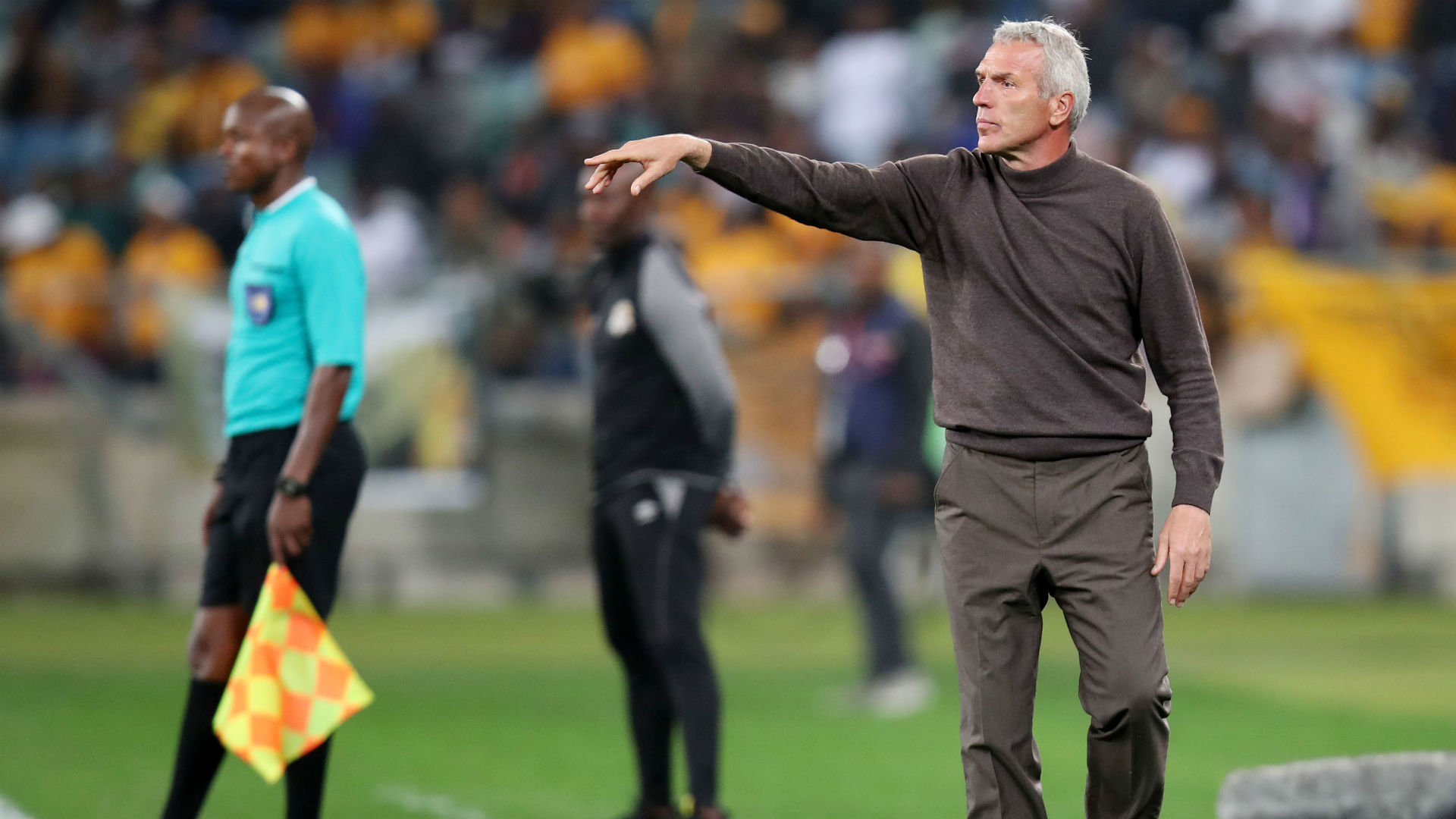 Telkom Knockout Cup: Kaizer Chiefs' Middendorp on how Orlando Pirates' Mokwena can grow