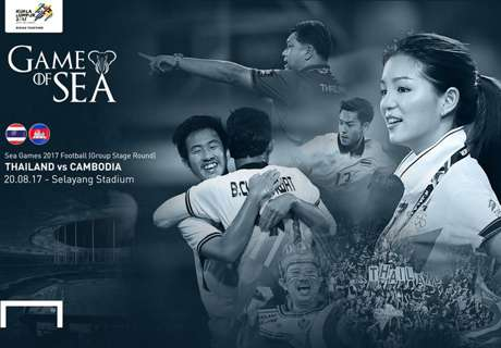 SEA Games 2017 กลุ่มบี: ไทย - กัมพูชา