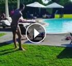 ► Golazo de Bonucci en la piscina