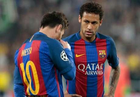 Neymar acertaría huyendo de Messi