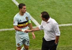 Eden Hazard Marc Wilmots