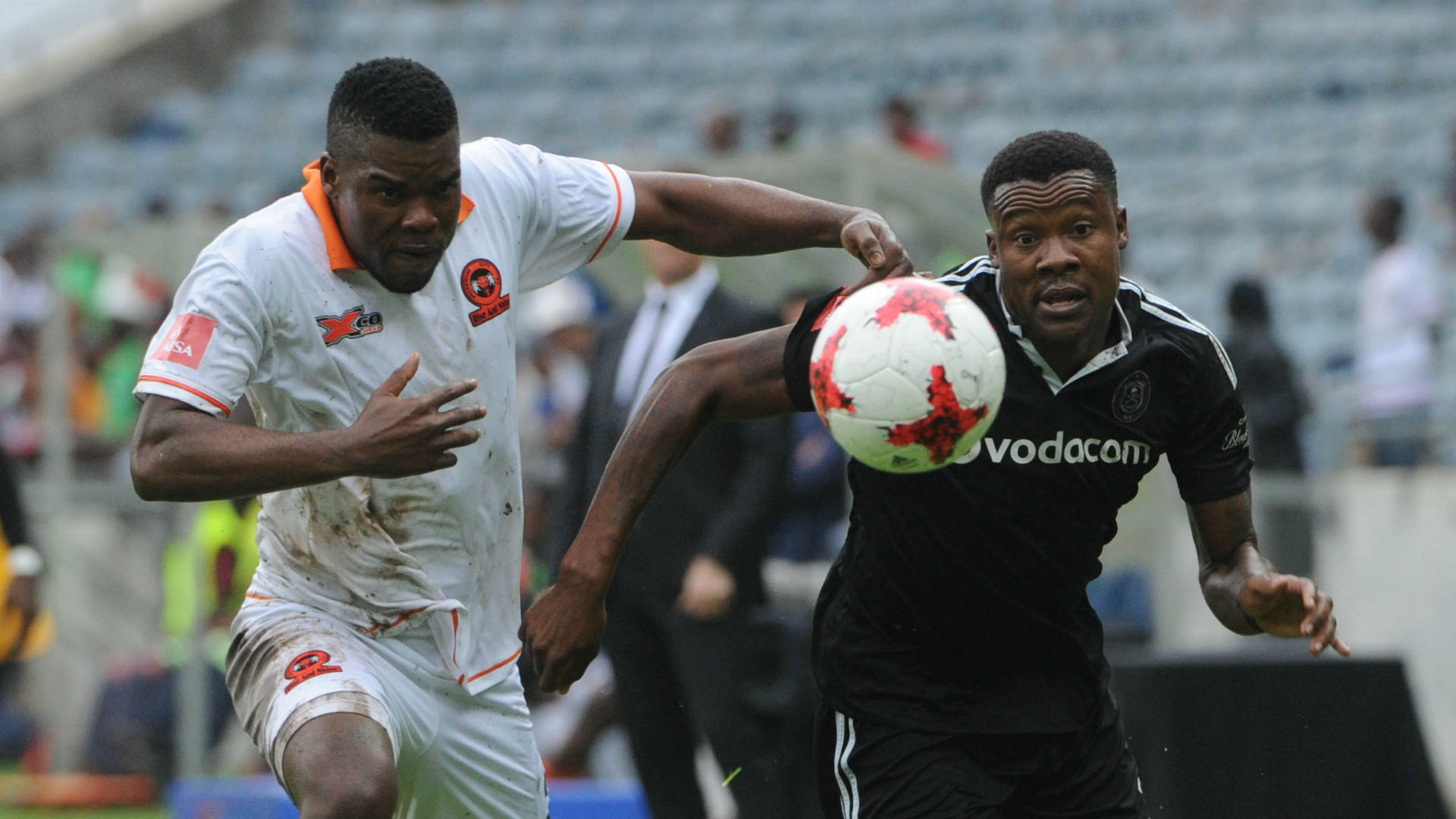 Thamsanqa Gabuza of Orlando Pirates vs Polokwane City