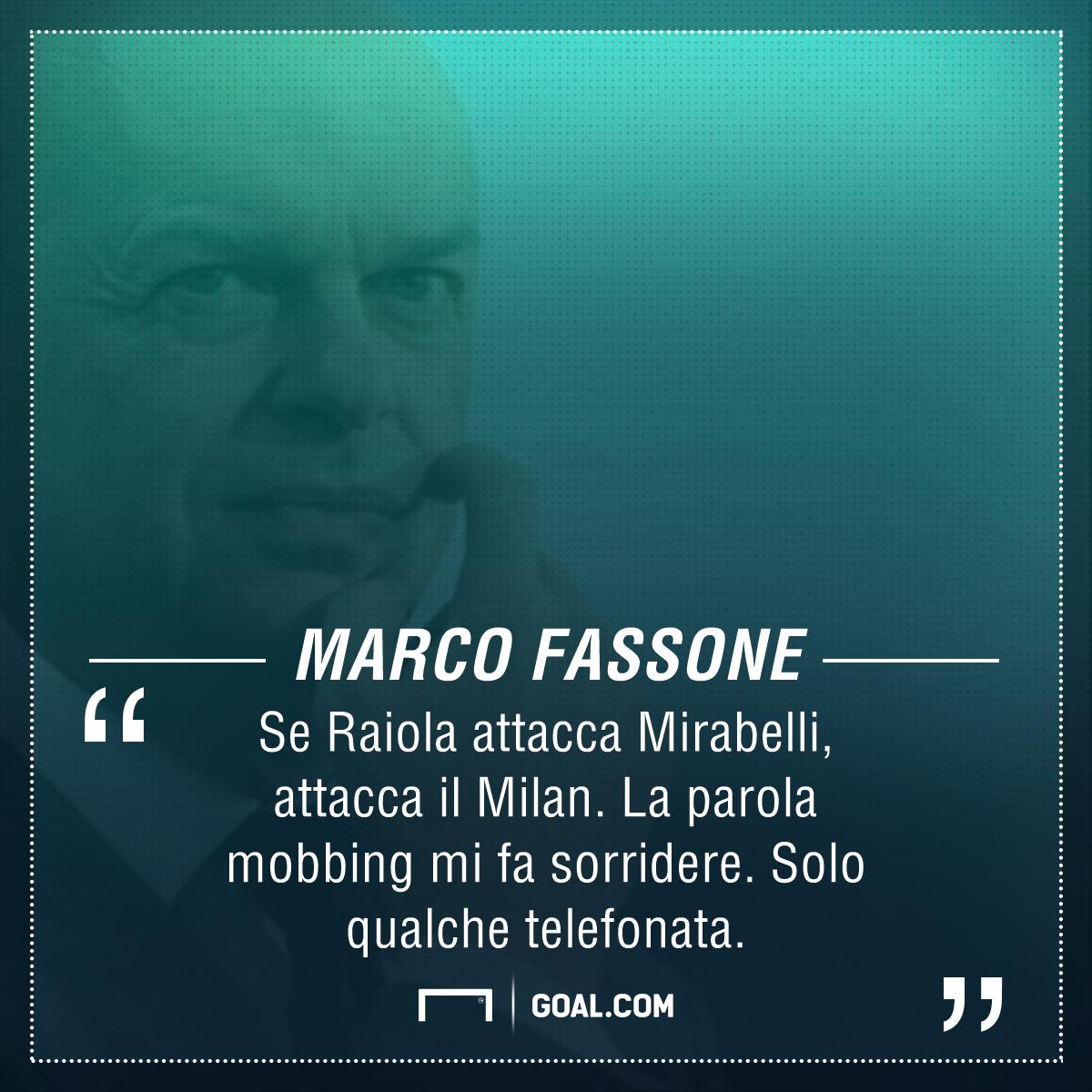 Calciomercato, Fassone: