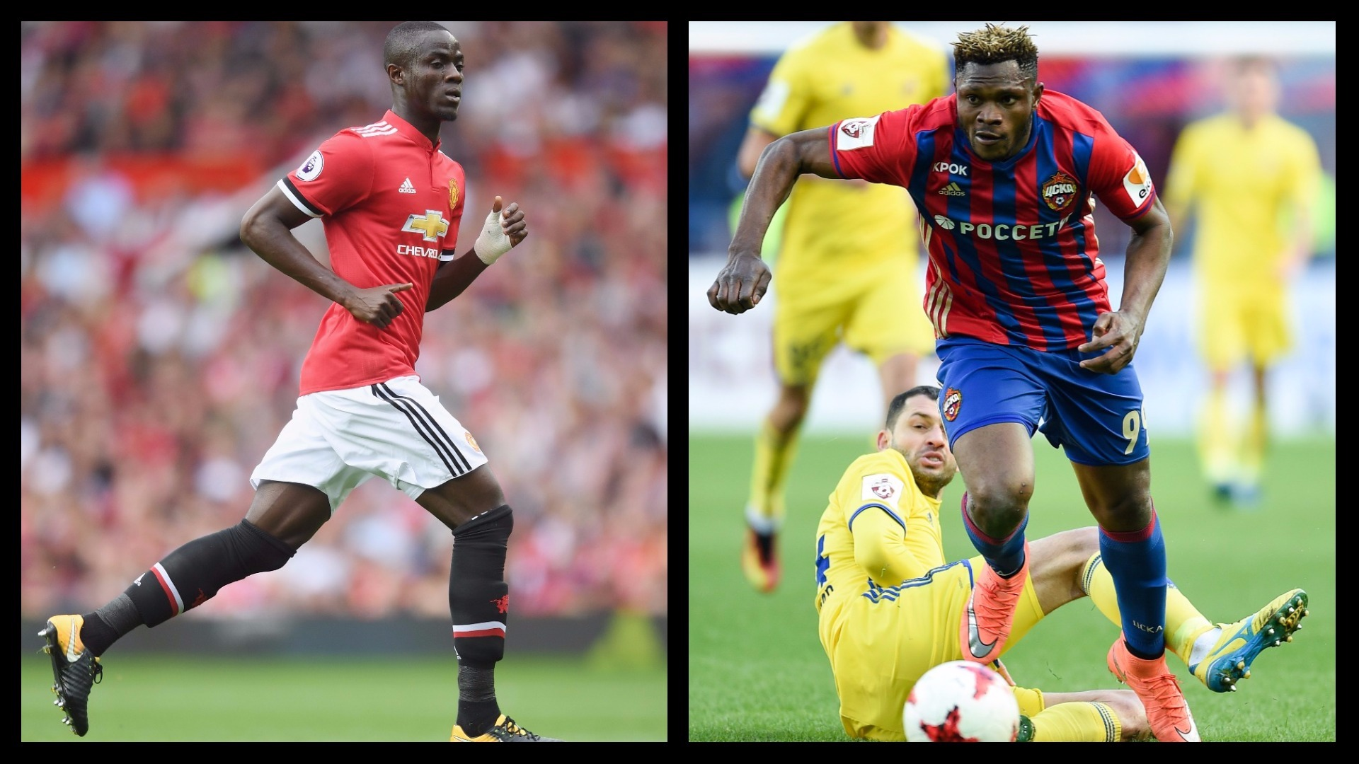 Bailly v Olanare UCL African key battles