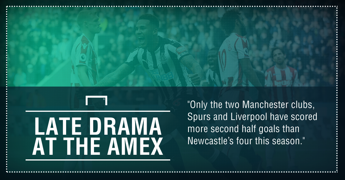 GFX FACT BRIGHTON V NEWCASTLE