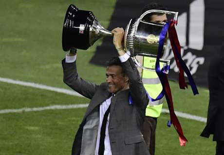 Luis Enrique is one of Barca's greats