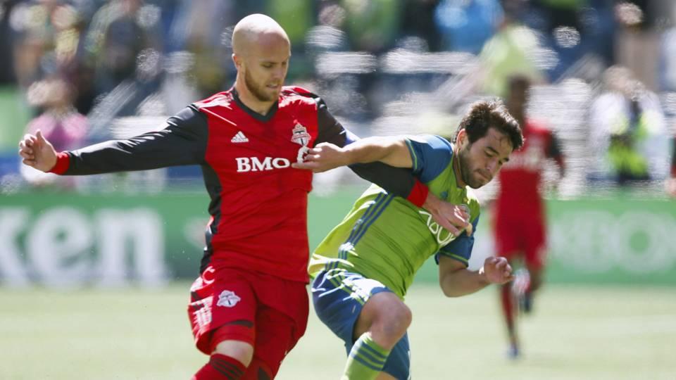 Michael Bradley Nicolas Lodeiro Toronto FC Seattle Sounders