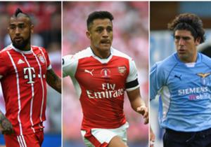 Con el cuarto título de Alexis Sánchez en Arsenal, el atacante quedó a uno de igualar a Arturo Vidal, el chileno más ganador del Viejo Continente.