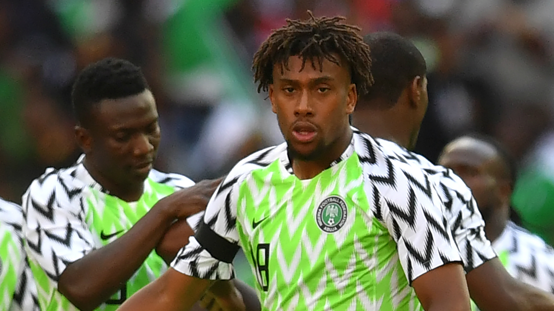 Iwobi and five Super Eagles who can hurt Ukraine