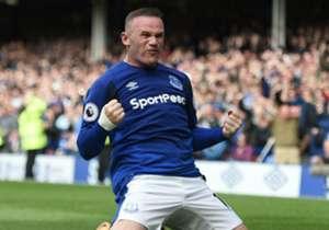 Wayne Rooney mencetak gol ke-200 di EPL saat membantu Everton menahan imbang Machester City. Goal merangkum sepuluh pencetak gol terbanyak dalam era EPL.