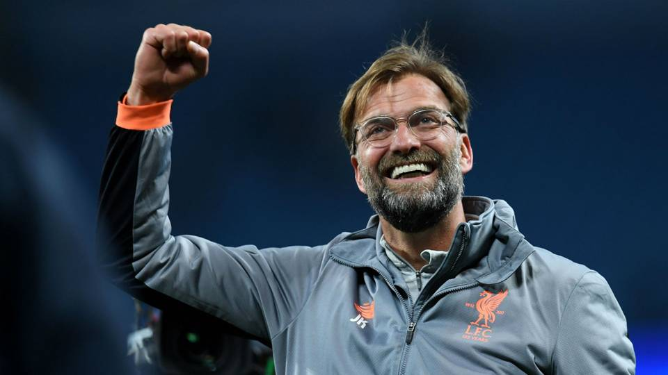Jurgen Klopp Liverpool Manchester City Champions League