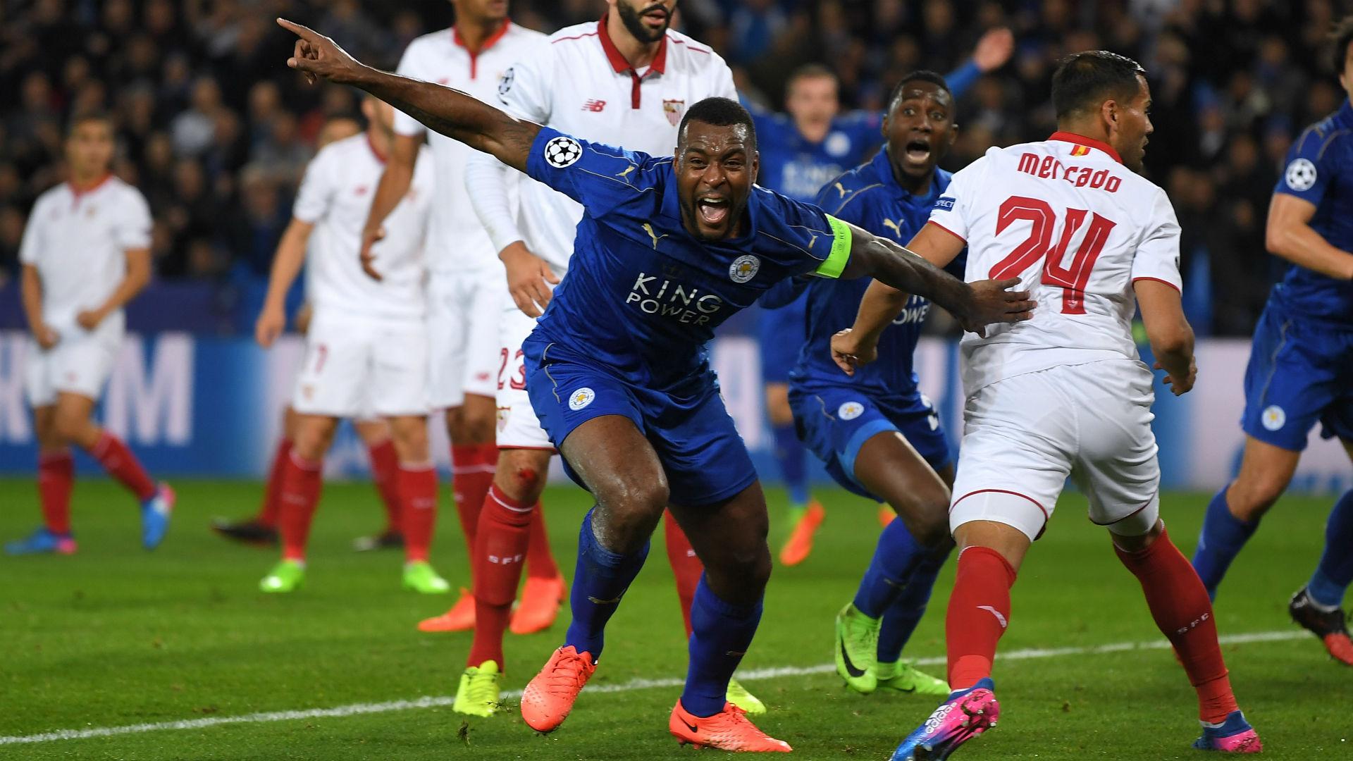 Leicester Sevilla Wes Morgan