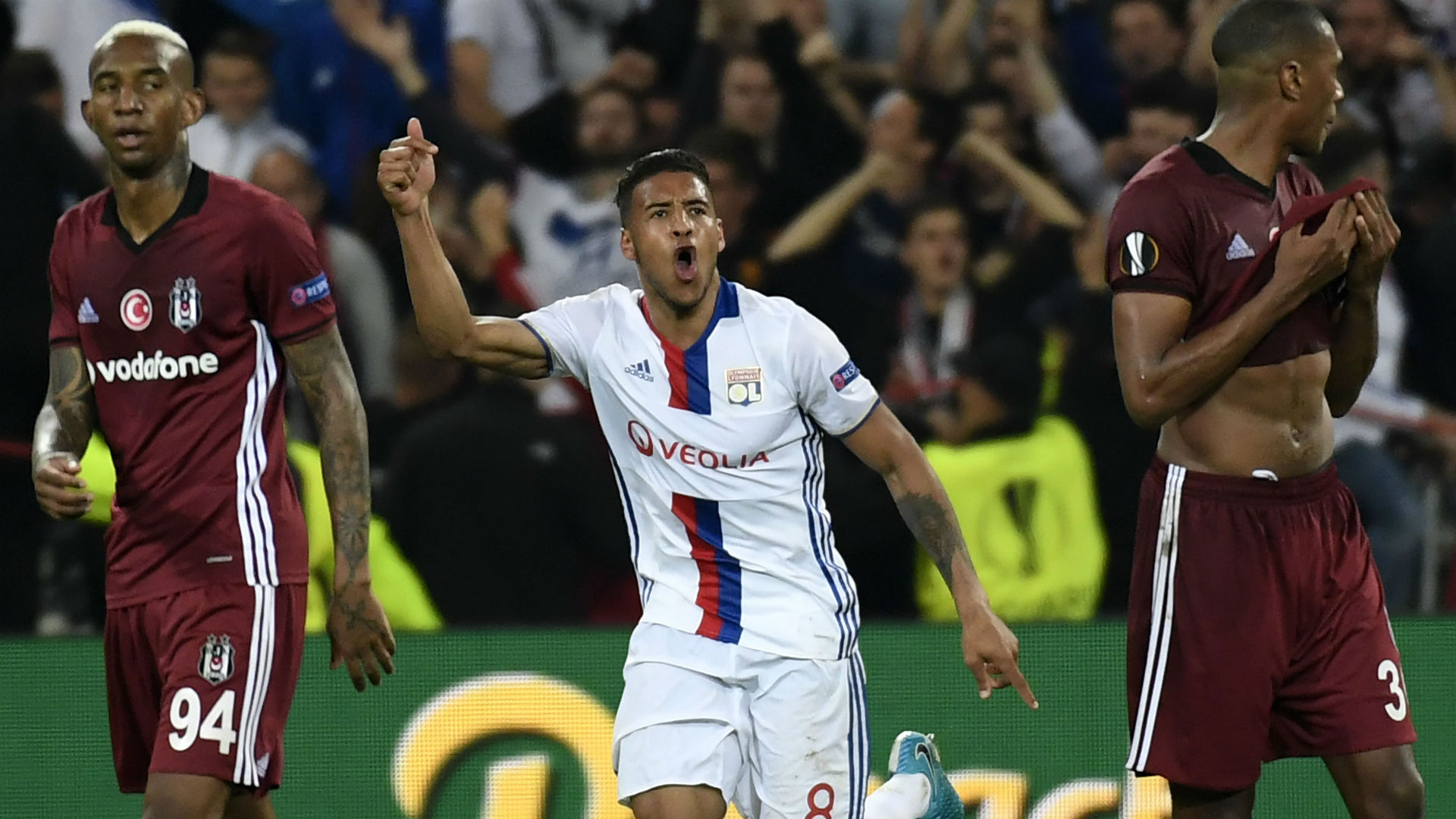 Corentin Tolisso Lyon Besiktas UEFA Europa League 13042017