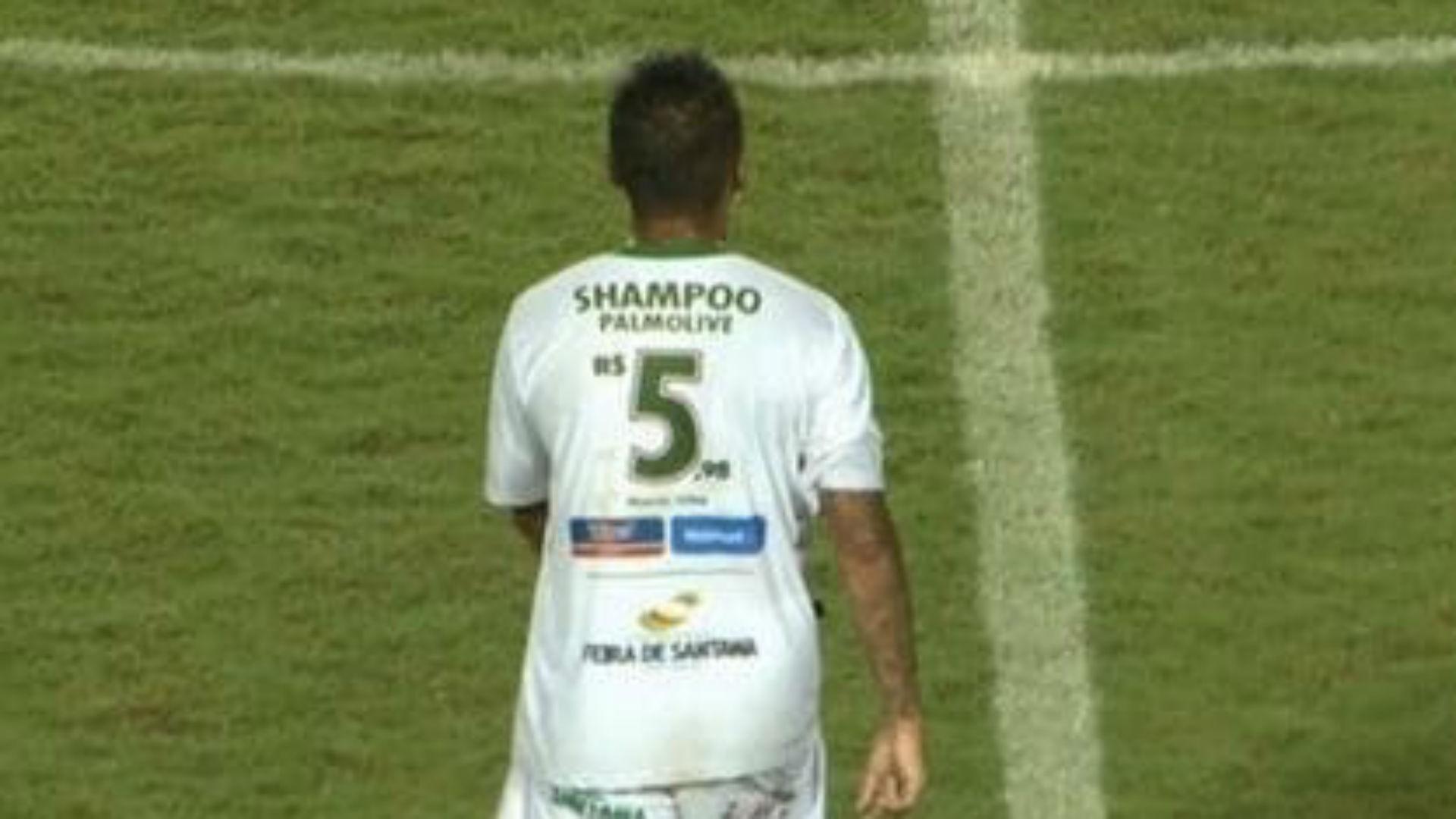 Brazilian Serie D side Flu de Feira launch novel shirt number sponsorship