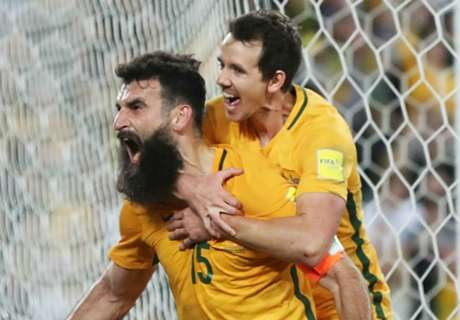 Hat-trick hero Jedinak leads by example