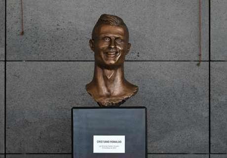 Quand Twitter se déchaîne sur la statue de Cristiano Ronaldo