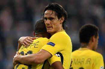 Seventh heaven! Cavani joins Ronaldo and Van Nistelrooy in elite Champions League club