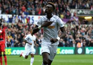 The Swans moved out of the bottom three after cashing in on two lucky breaks from the forward against Huddersfield Town at the Liberty Stadium