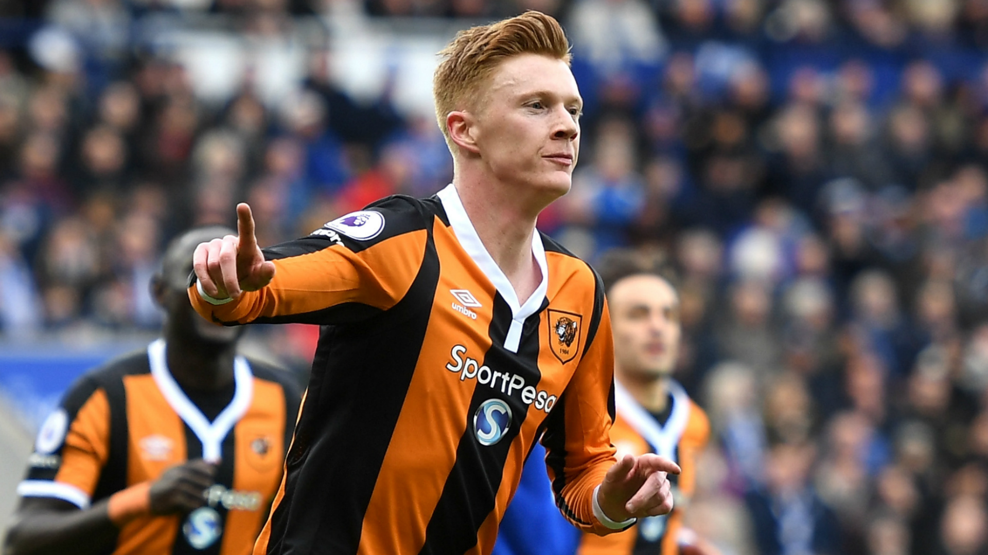 Sam Clucas Leicester City Hull 04032017