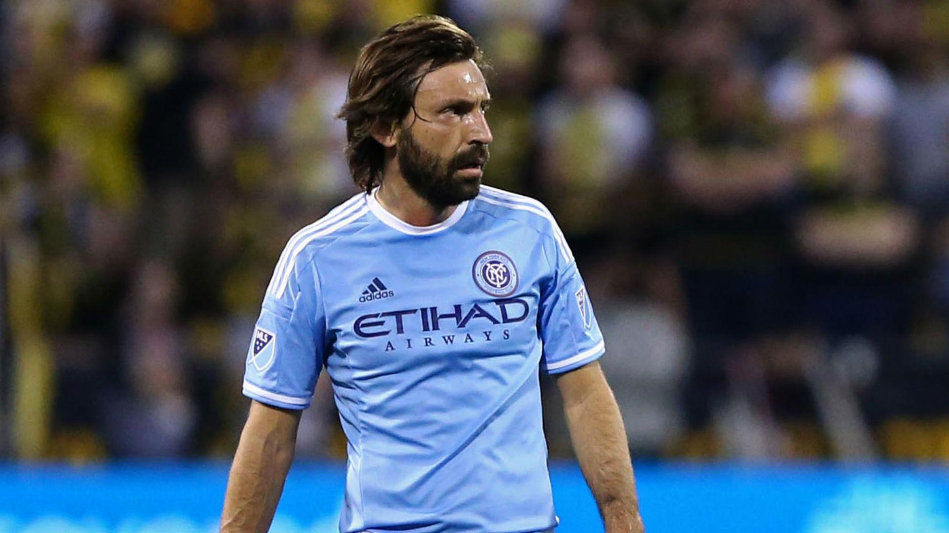 Andrea Pirlo MLS NYCFC 041616