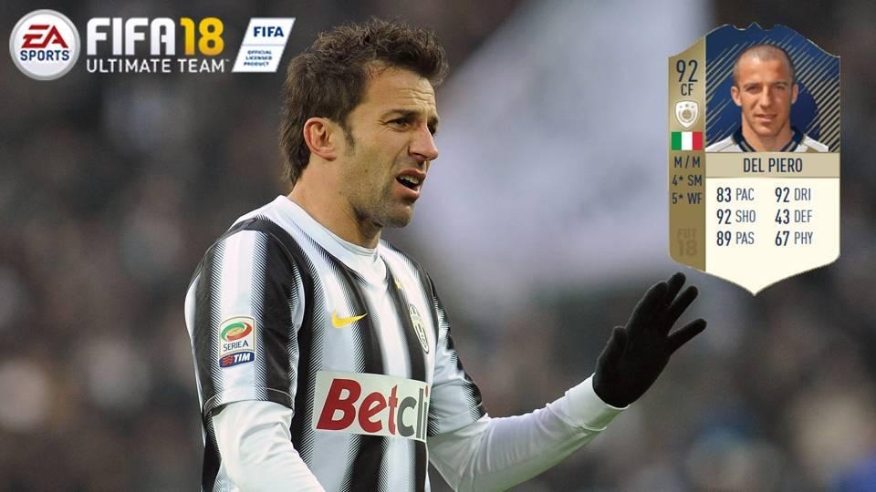 FIFA 18 ICON Del Piero
