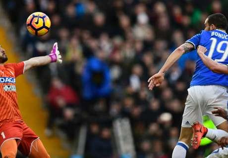 Bonucci rescues draw for Juve