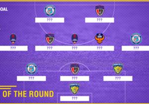 ISL 2017-18 Team of the Round 10