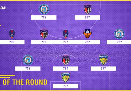 ISL 2017-18: Team of the Round 10