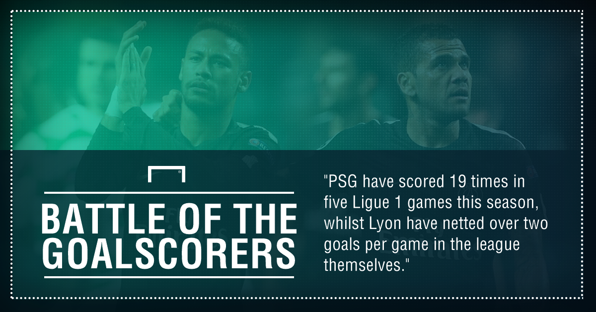 PSG Lyon Graphic