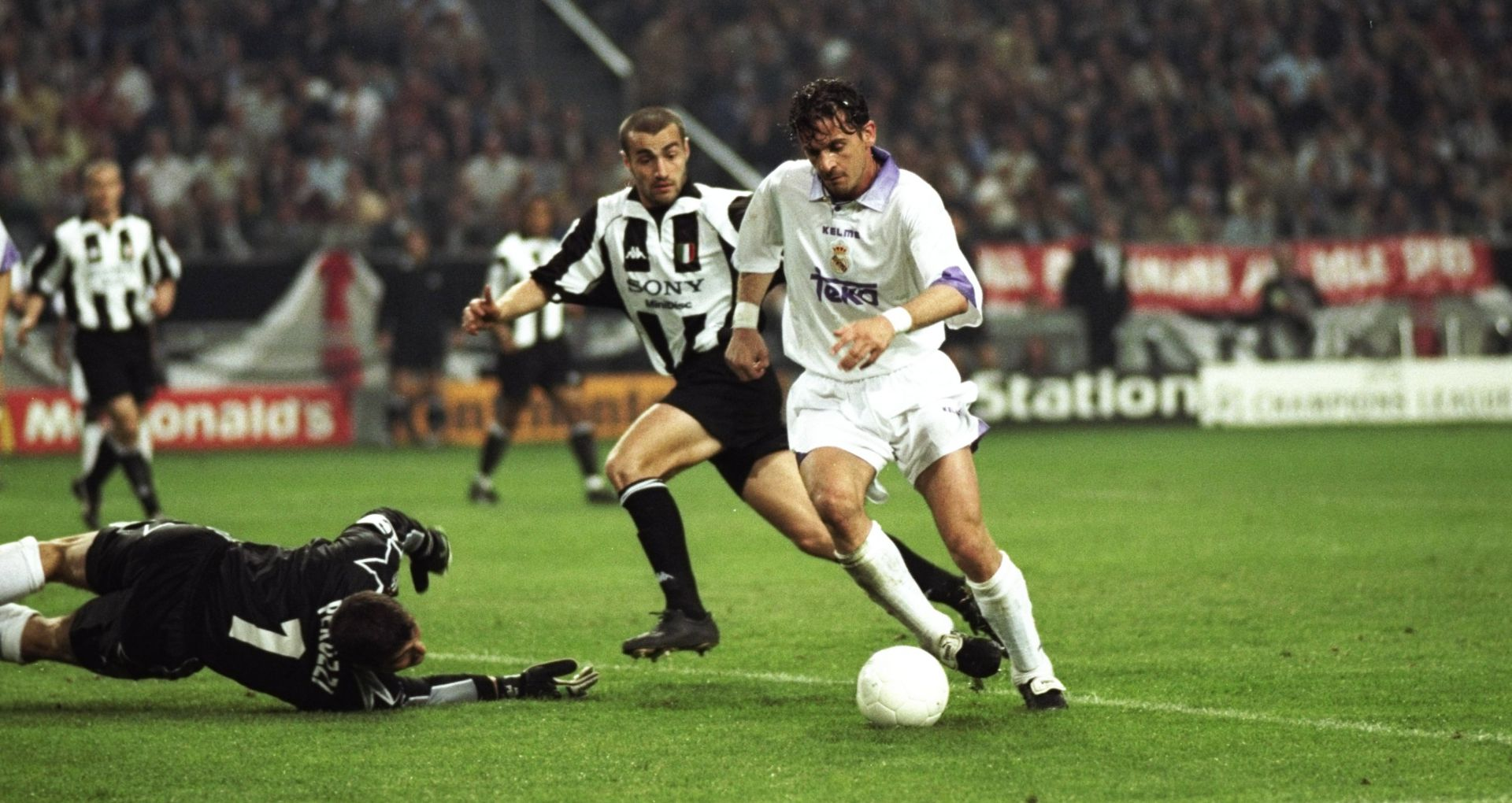 Pedrag Mijatovic Real Madrid Juventus