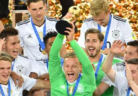 Germany return top of FIFA rankings