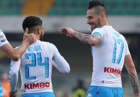 Il Napoli batte tre colpi: Real dimenticato