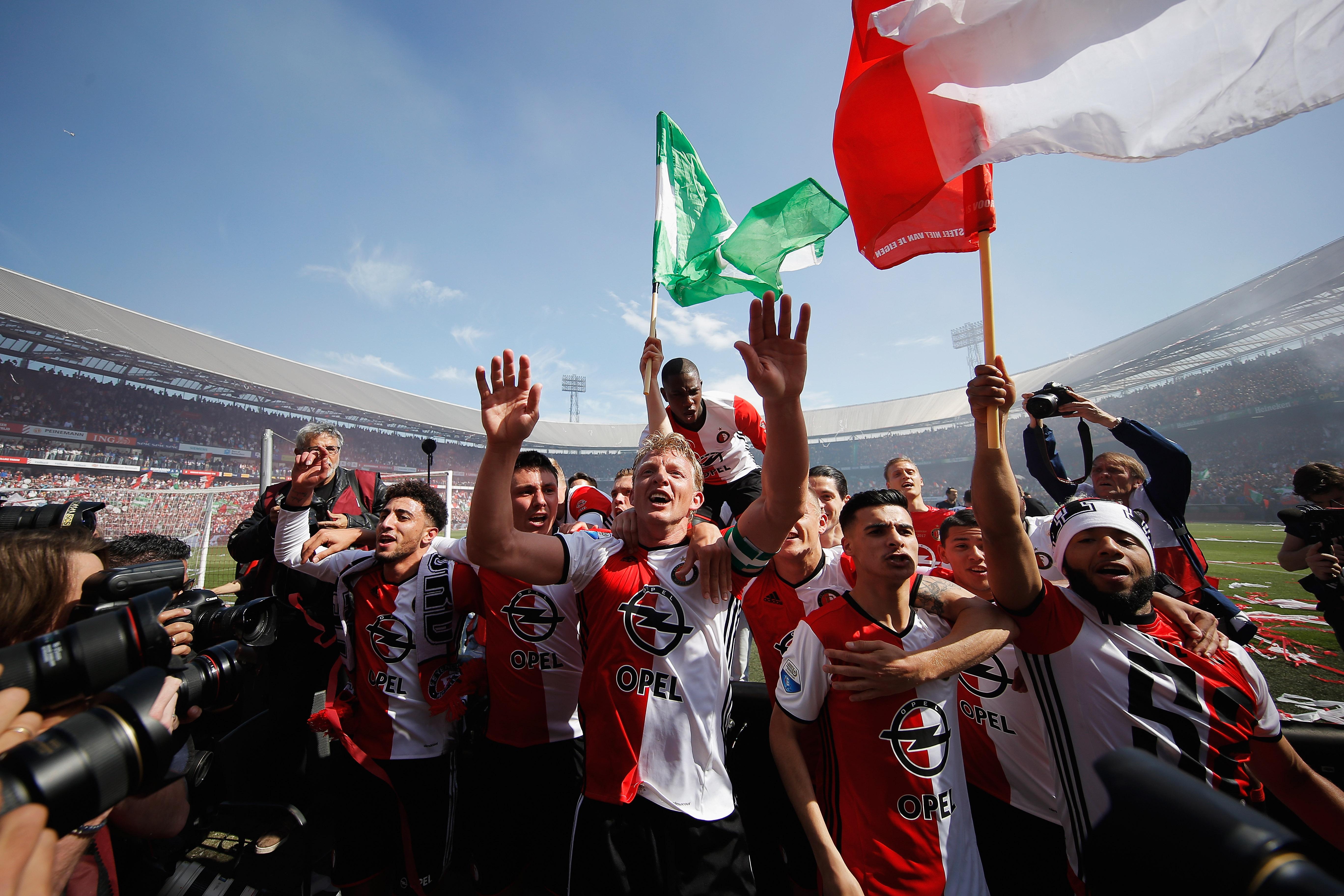 Feyenoord consigue título de Eredivisie tras 18 años