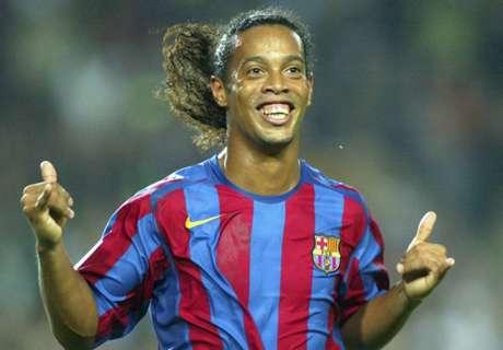 VIDEO: Ronaldinho's no-look pass
