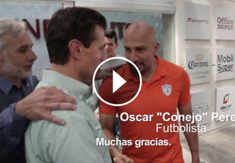 ► Peña Nieto visitó al Pachuca