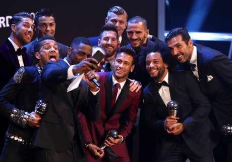 Messi & Ronaldo headline FIFPro World 11