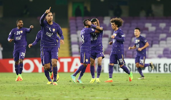 Al Ain players