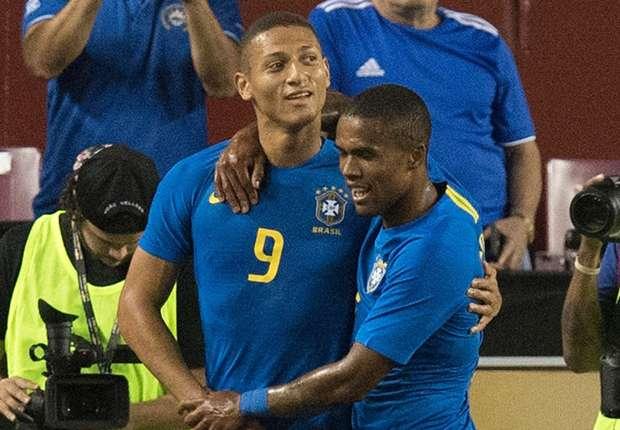 Richarlison hails first Brazil goals as 'dream come true'