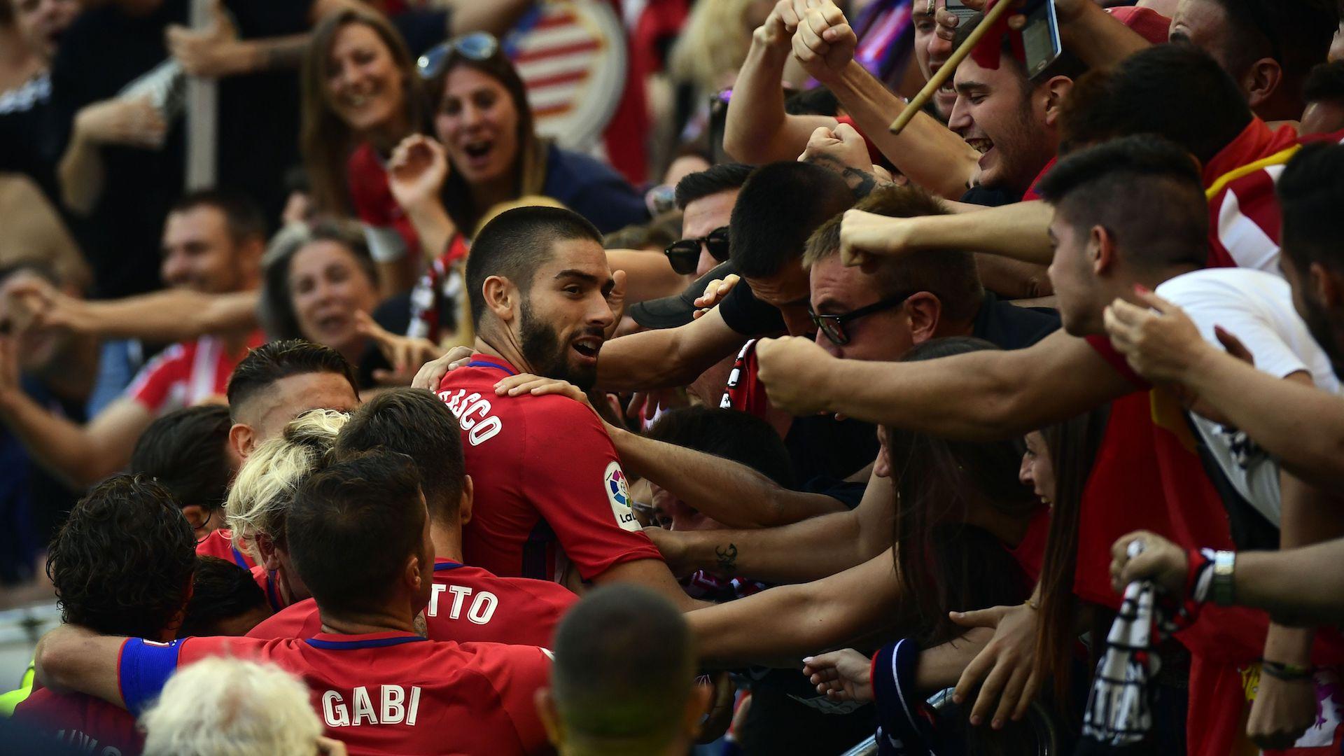 Carrasco Atletico Madrid Sevilla LaLiga