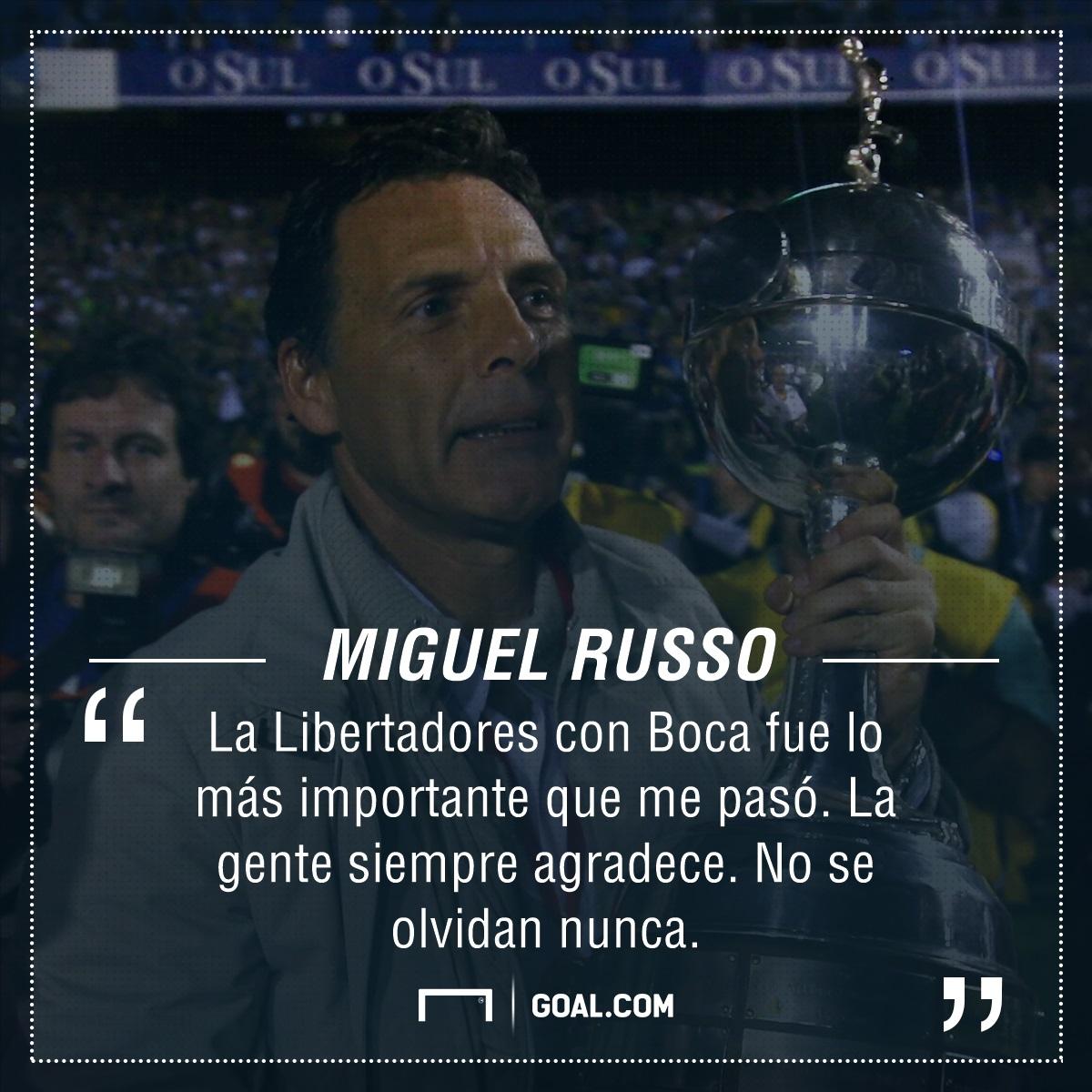 PS Miguel Angel Russo Libertadores Boca
